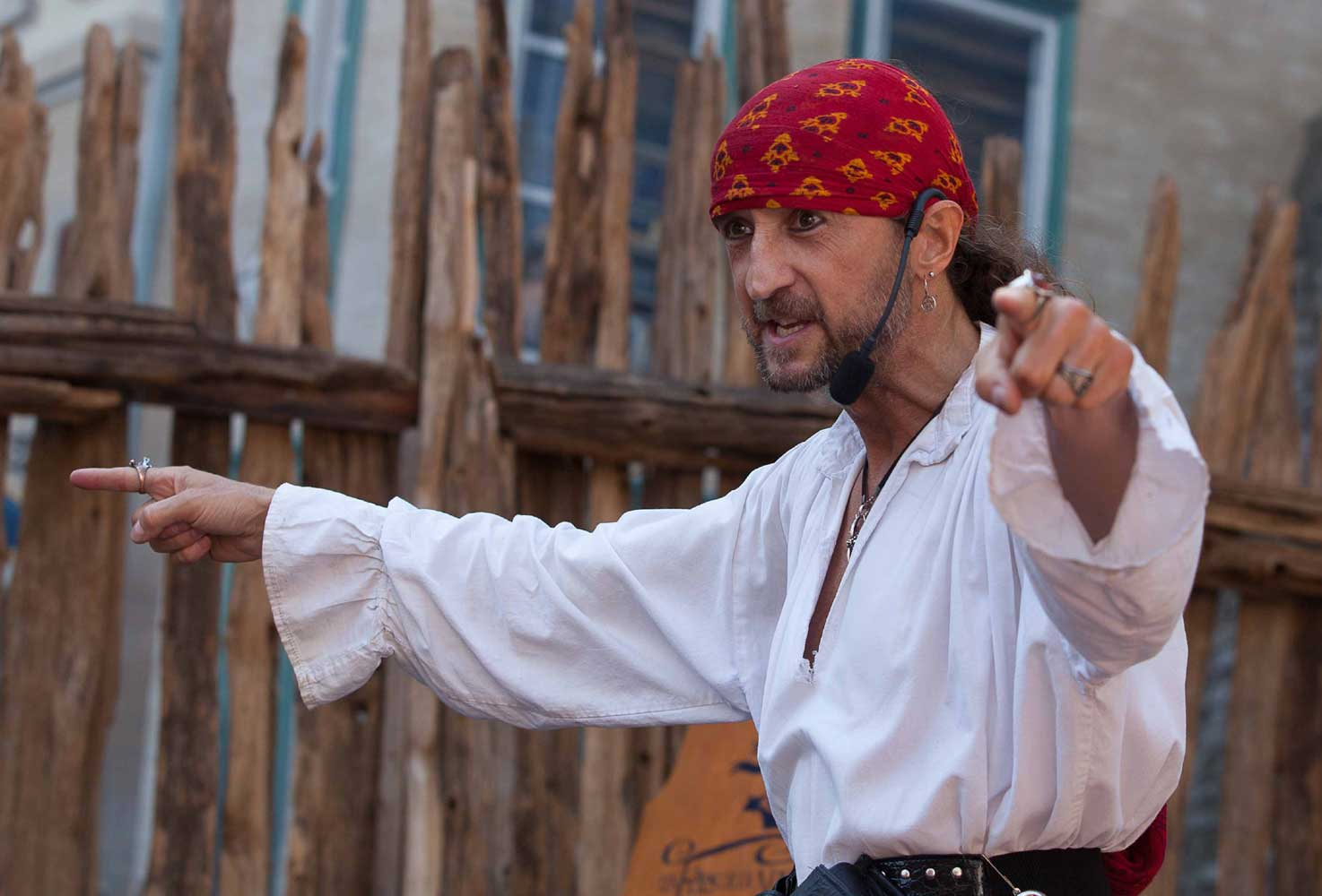 Spectacle pirate du Capitaine Loran
